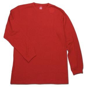 Tokyo Hemp Connection (トウキョウヘンプコネクション) ONE HIT TEE LS ロングスリーブTシャツ / RED x RED|greenplanet