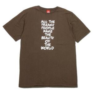 Tokyo Hemp Connection (トウキョウヘンプコネクション) FREAKY TEE グラフィック Tシャツ / BROWN|greenplanet