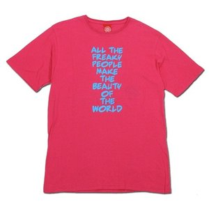 Tokyo Hemp Connection (トウキョウヘンプコネクション) FREAKY TEE グラフィック Tシャツ / PINK|greenplanet