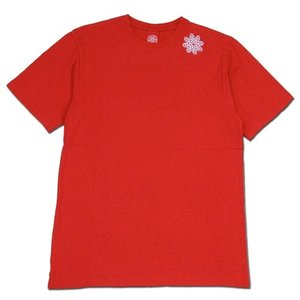 Tokyo Hemp Connection (トウキョウヘンプコネクション) ONE HIT TEE SS 無地 Tシャツ / RED x WHITE|greenplanet
