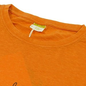 Tokyo Hemp Connection (トウキョウヘンプコネクション)  THC x SKOLOCT TEES ヘンプオーガニックコットン Tシャツ / ORANGE|greenplanet|03