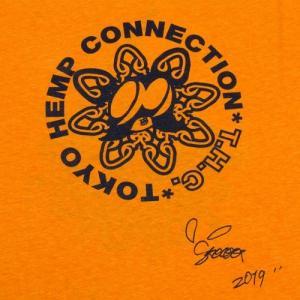 Tokyo Hemp Connection (トウキョウヘンプコネクション)  THC x SKOLOCT TEES ヘンプオーガニックコットン Tシャツ / ORANGE|greenplanet|05