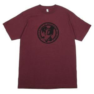 Tokyo Hemp Connection (トウキョウヘンプコネクション)  THC SHOP TEES DOG グラフィック Tシャツ / DEEP RED|greenplanet