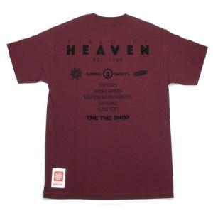 Tokyo Hemp Connection (トウキョウヘンプコネクション)  THC SHOP TEES DOG グラフィック Tシャツ / DEEP RED|greenplanet|04
