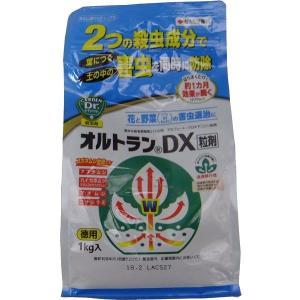 殺虫剤 浸透移行性薬品 【オルトランDX粒剤】 粒状 1kg アブラムシ・カイガラムシ・アオムシ・コナジラミなどに greenplazai-chikawa
