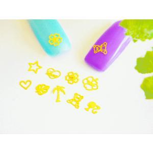 1枚5円!!ネイルアート・レジンデコ♪デザイン色々♪爪サイズ♪使い易い可愛いメタルパーツパーツ10枚入り|greenrosenetshopyumi