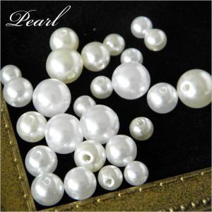 【卸売り】パール6mm 白・生成 500個 貫通・未貫通タイプ Pearl14-6mm|greenrosenetshopyumi