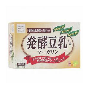 創健社 植物性発酵豆乳入り マーガリン 160g|greens-gc
