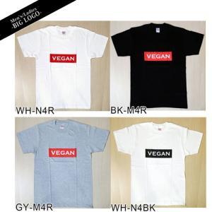 【グリーンズ】ヴィーガンビッグロゴTシャツ  Vegan big logo メンズ/レディース gc|greens-gc