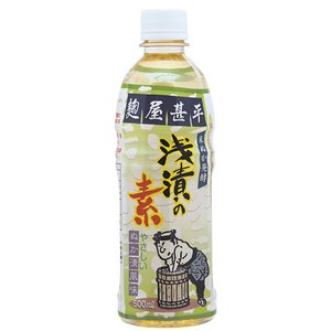 麹屋甚平浅漬けの素 500ml アイワ|greens-gc