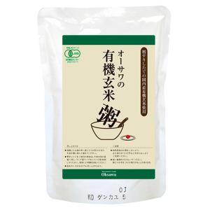 オーサワ 有機 今ずり 玄米粥 200g ow jn|greens-gc