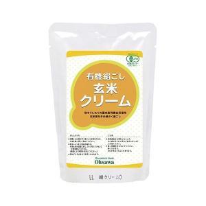 有機絹ごし玄米クリーム 200g|greens-gc