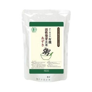 有機活性発芽玄米あずき粥 200g オーサワ|greens-gc