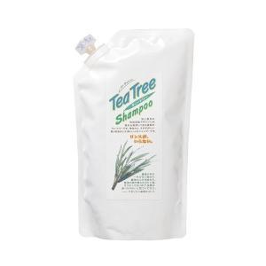 ティートリーシャンプー 詰替用 420ml イノチ|greens-gc