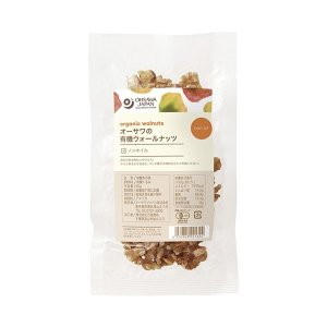 オーサワの有機ウォールナッツ(くるみ) 60g|greens-gc