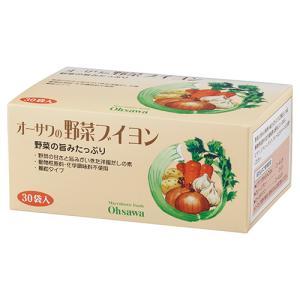 人気商品! オーサワの野菜ブイヨン 150g(5g×30包) ow jn|greens-gc