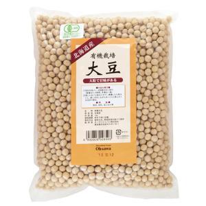 有機栽培大豆 1kg オーサワ|greens-gc
