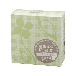 植物成分防虫剤 森の香り タンス用 25包入り (3g×25包) タジマヤ|greens-gc