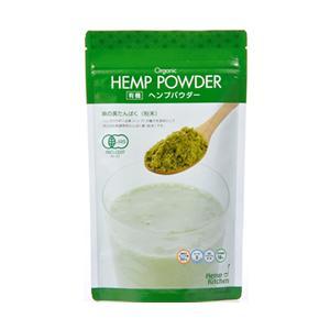 有機ヘンプパウダー 麻の実ナッツ代替品 180g|greens-gc