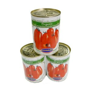 モンテベッロ 有機JAS認定 ホールトマト 有機トマト 400g×1個|greens-gc