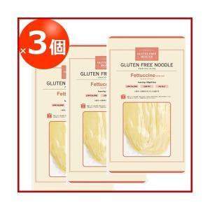グルテンフリーヌードル 米粉フェットチーネ 1食 128g×3個セット 低糖質|greens-gc