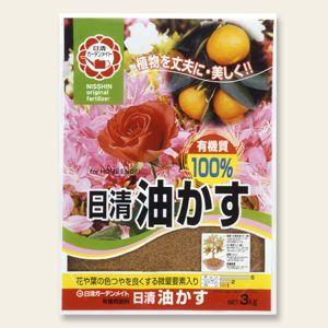 日清 油粕 3kg | 肥料 活力剤|greentime