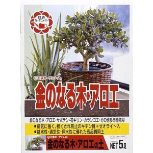 日清 金のなる木・アロエの土 5L | 用土 培養土|greentime