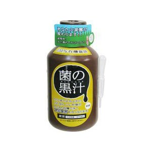 ヤサキ 菌の黒汁 500ml   肥料 活力剤 アンプル剤 greentime
