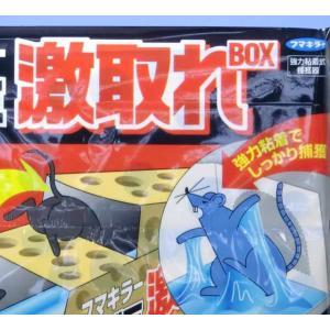 ねずみ駆除 ネズミ激取れBOX 2個入り フマキラー|greentime
