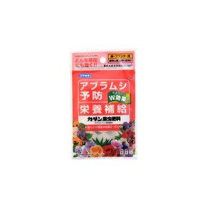 殺虫剤 カダン殺虫肥料 台紙タイプ 20G フマキラー|greentime