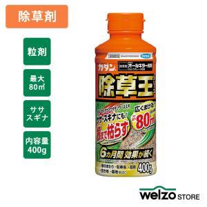 除草剤 カダン 除草王 オールキラー粒剤 400g フマキラー|greentime