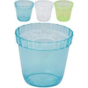 大和プラスチック 水栽ポット NO.3 クリアー...の商品画像