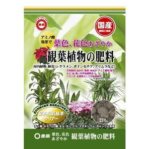 東商 観葉植物の肥料 210g | 専用肥料 活力剤|greentime
