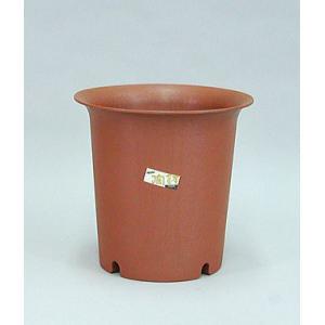 アップルウェアー 陶鉢 深型 7号 えび茶 φ23.2×22.5cm| プランター|greentime