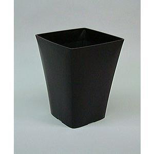 アップルウェアー グラシアポット 215型 ブラック 21.5×21.5×27.5(cm)| 鉢 プランター|greentime