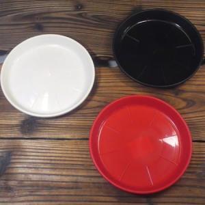 アップルウェアー ラスタープレート M-155型 ブラック 鉢皿 黒 | プランター|greentime