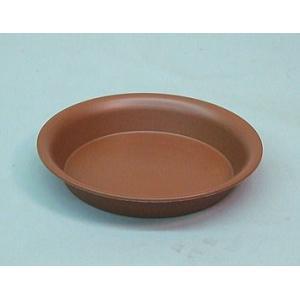 アップルウェアー 陶鉢皿 8号 えび茶  φ25.5×3.9cm| プランター|greentime