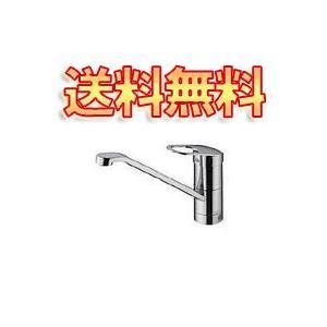 TOTO キッチン用 シングルレバー混合栓・エコシングル水栓  TKY231E(取寄せ品)|greentime