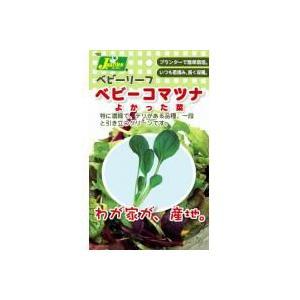 ベビーリーフタネベビーコマツナ | 種子|greentime