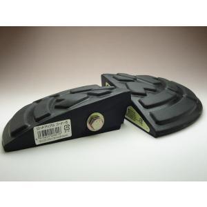 リッチェル ロードアップG コーナー5 4個組 幅15cm×H4.5cm 段差スロープ 段差プレート バリアフリー 駐車場 ゴム製 (取寄せ品) greentime