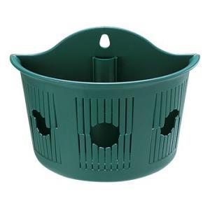 リッチェル ウォールバスケット グリーン 27×13×20.3(cm)| 鉢 プランター 壁掛け|greentime