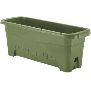 リッチェル 水ラク菜園上手 85型 グリーン 85×29×31.5(cm)| 鉢|greentime