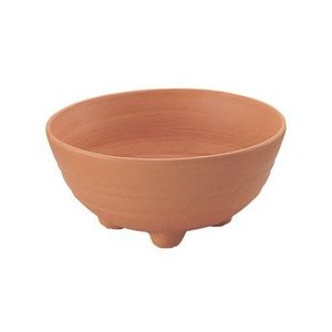 リッチェル アルテ プランターボール 36型 ブラウン φ35.5×15(cm)| 鉢|greentime