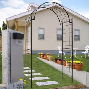 タカショー クライミングアーチローズキャッ GSTR-RC10   エクステリア 庭園資材 greentime