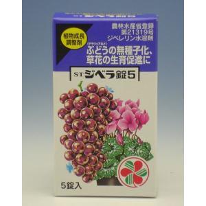 活性剤 活力剤 成長調整剤 STジベラ錠5 5錠入 住友化学園芸|greentime