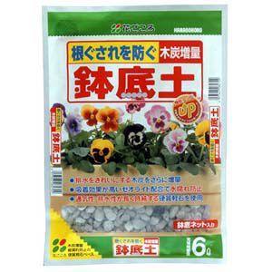 花ごころ きれいな鉢底石 6L   培養土 単一用土 greentime