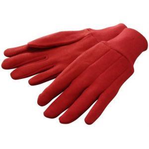 ハイポネックス ジャージフィット レッド TGL101 | 作業用品 手袋|greentime