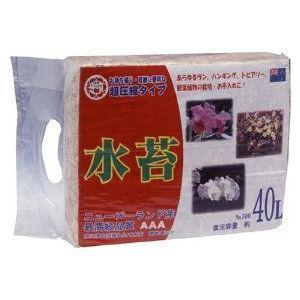 日清 超圧縮水苔 500g 40L | 培養土 用土 山苔|greentime