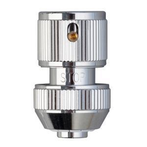 ホース 蛇口 アタッチメント 金属 メタルストップコネクター G311 適合ホース 内径 12 〜 15 ミリ takagi タカギ 安心の2年間保証|greentools