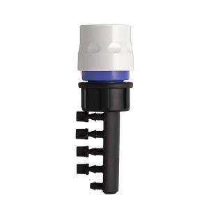自動水やり ジョイント 5分岐コネクター 4mm×5 GKJ111 灌水 takagi タカギ 安心の2年間保証|greentools